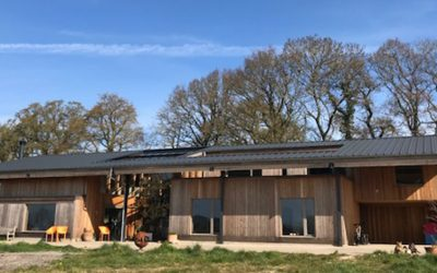 Off-Grid Solar PV Case Study For a Large Self-Build Project